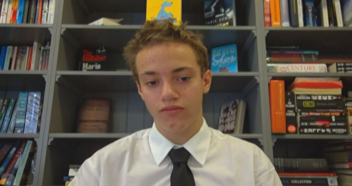 БНТ13 годишно момче дари над 4000 лева, за да подкрепи