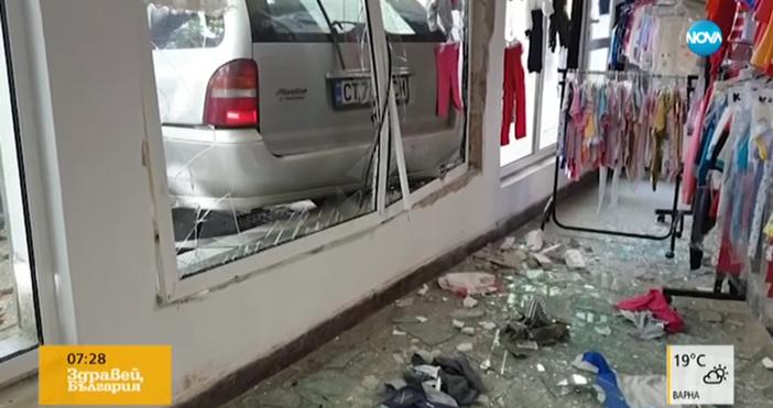 55-годишен мъж заби колата си на оживена улица в Казанлък
