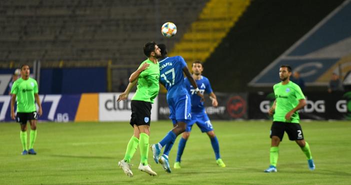 ОтборътнаЛевскипобедиЧерно морес3:0 в мача от 9-ия кръг на efbet Лига