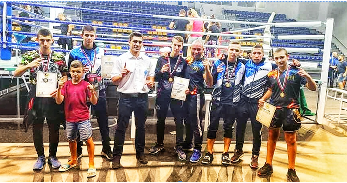 Четири златни и един сребърен медал спечелиха бойците на СКБИ