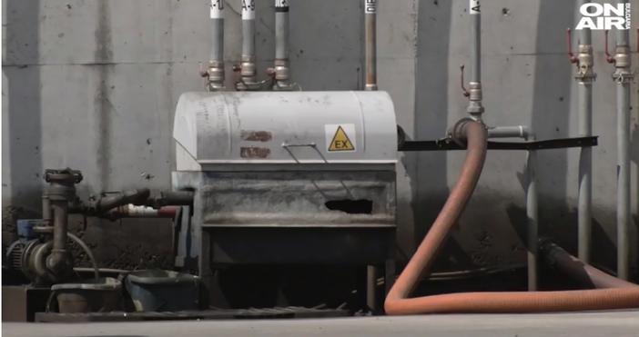 Кадър:bgonair.bgНеизправна газова уредба е най-вероятната причина за взривеното на бензиностанция
