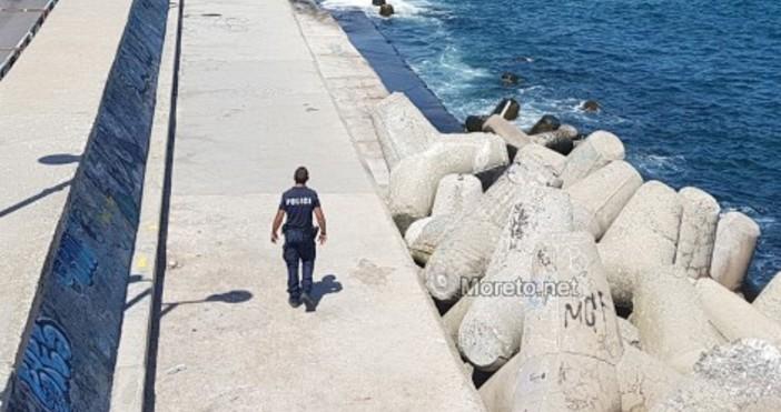 Снимка: Moreto.netТекат действия по издирването на 25-годишен белгиец, паднал от