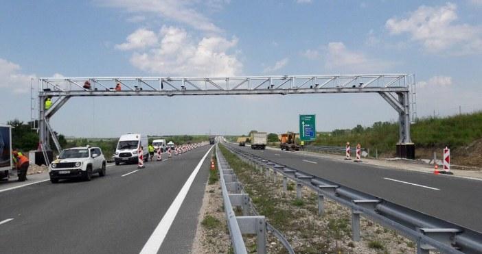 Източник и снимка:trafficnews.bg Новите портални рамки на ТОЛ системата ще