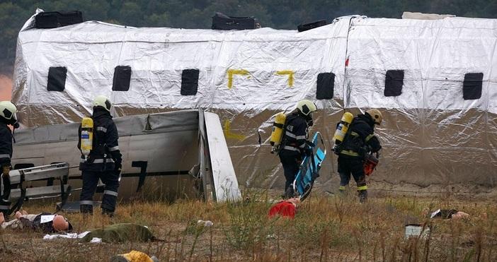 """Снимки БулфотоТърсене и спасяване при авиационно произшествие"""" се разигра на"""