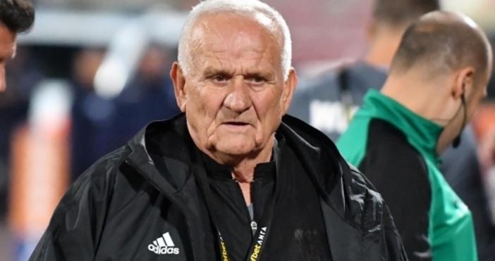 Наставникът наЦСКА-СофияЛюпко Петровичсе изказа остро срещу Станимир Тренчев за днешното