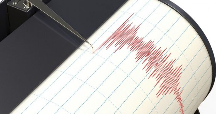Земетресение с магнитуд 2,7 е регистрирано на територията на България
