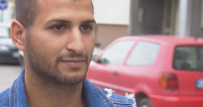 Кадър: БТВПочиналият на ринга в Албания български боксьор Борис Станчов