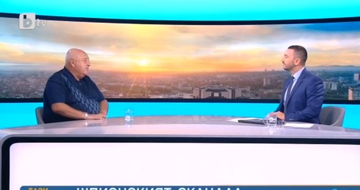 Снимка: Венци Стефанов призна в ефир: Аз срещнах Нинова с ген. Решетников. Тя му каза за Румен Радев, но двамата не се харесаха и...