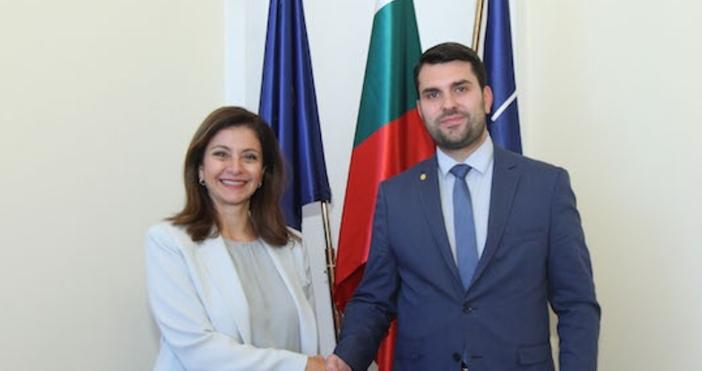 Снимка: Пресцентър на МВнРЗаместник-министърът на външните работи Георг Георгиев прие