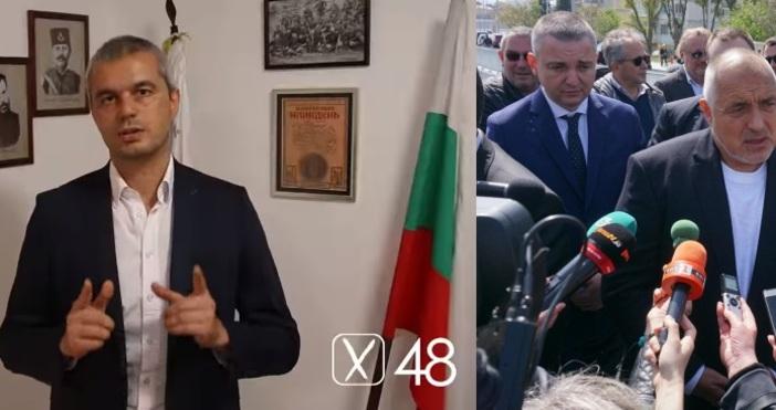 Кандидатът за кмет на Варна Костадин Костадинов от партия