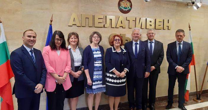 За трети пореден път делегация от Върховния областен съд-Нюрнберг, Германия