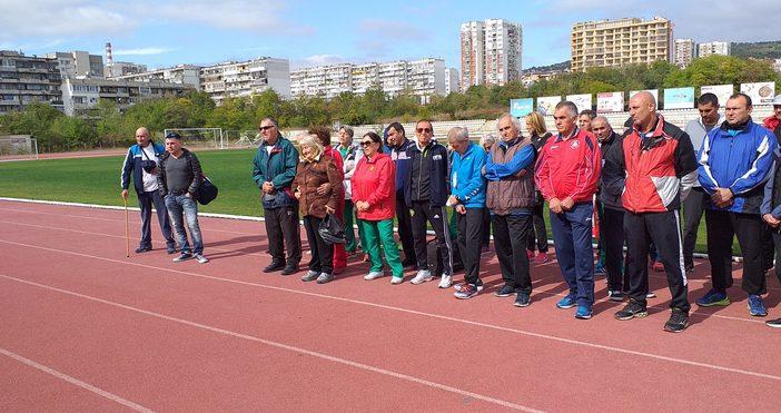 Във Варна се проведе турнира по лека атлетика за ветерани