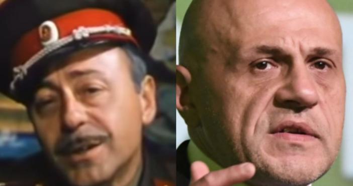 """В кино класиката """"Опасен чар"""", когато инспектор Ястребовски /в ролята"""
