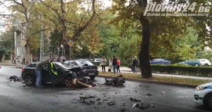Снимка: Plovdiv24.bgИстинско чудо е, че няма сериозно пострадали в тежката