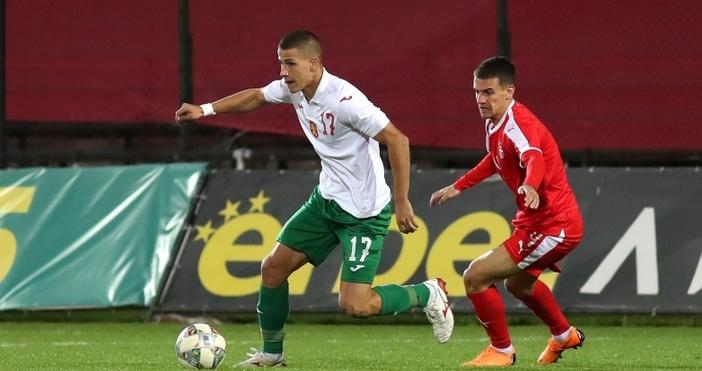 Снимка: Sportal.bgДвама футболисти на Черно море играха за младежкия националенотборна