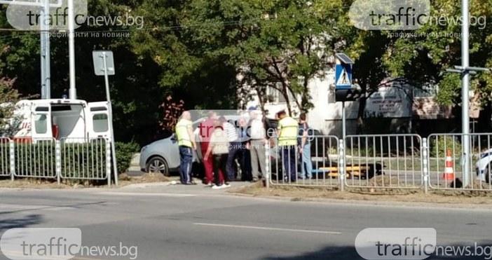 trafficnews.bgИнцидент стана преди минути на пешеходна пътека в пловдивския квартал
