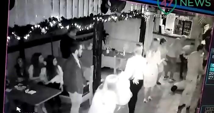 В руския град Кировск конфликт между посетители на кафене и