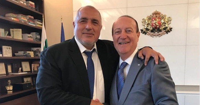 Проведох ползотворна среща с почетния ни консул в Израел Мони