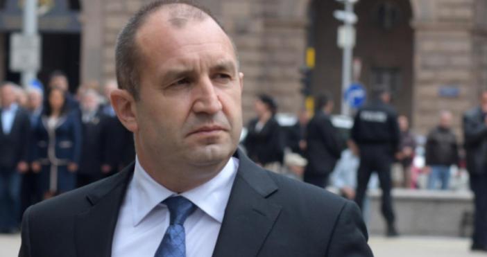 Снимка БулфотоПрезидентът Румен Радев не приема държавна намеса в делата