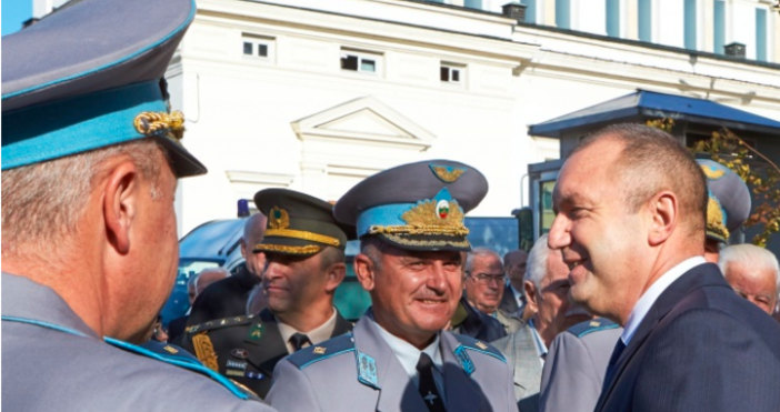 Снимка ПрезидентствоТрансформацията, модернизацията на българските ВВС и изобщо на Въоръжените