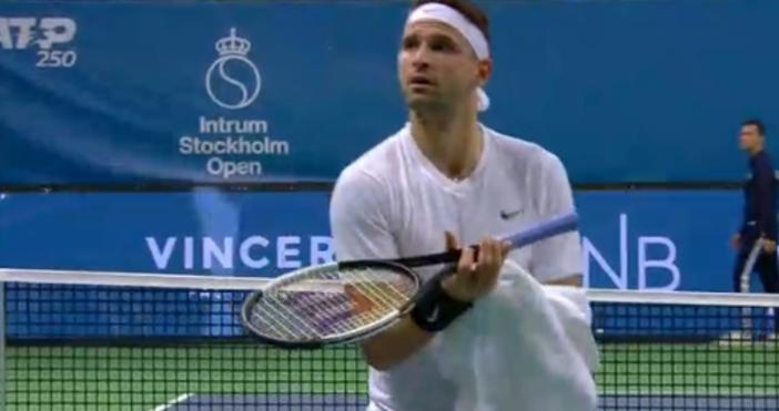 Българският тенисист допусна обрат от Сам КуериНай-добрият ни тенисист Григор