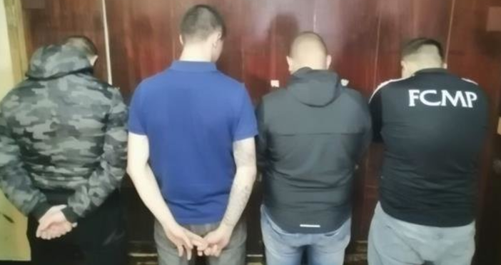 Снимка: МВРТази сутрин още петима мъже, съпричастни към непристойните действия