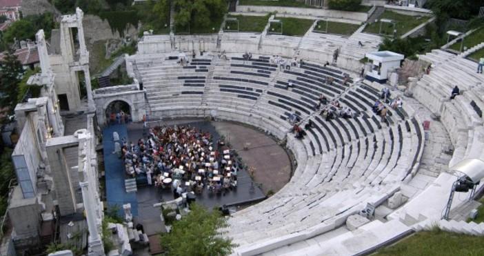 Античният театър на Филипополис е сред най-добре запазените антични театри