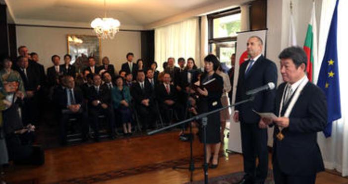 Снимка: President.bgБългария цени високо отношенията си с Япония, както и