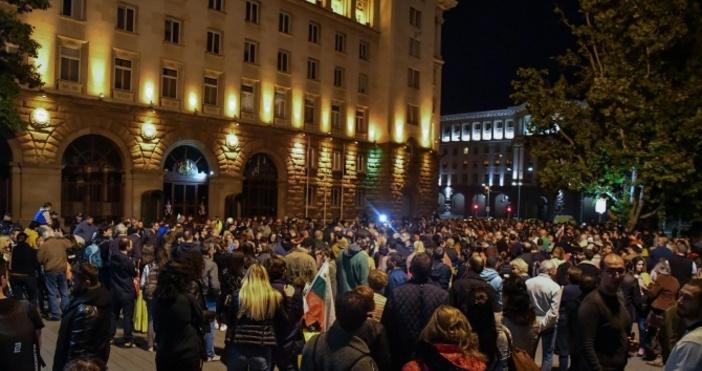 Снимка: Булфото, архивПореден протест срещу Иван Гешев, който беше избран