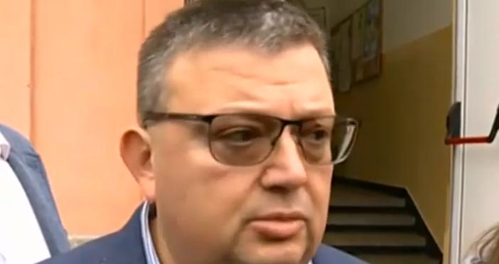 Кадър: Нова ТвГлавният прокурор Сотир Цацаров няма притеснения относно факта,
