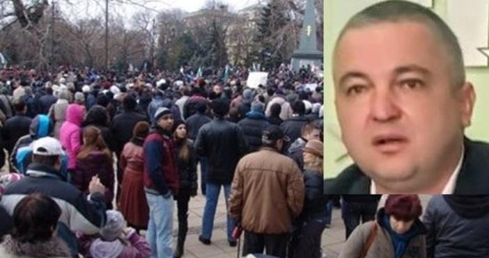 Протест срещу Иван Портних и ГЕРБ при оспорени избори в
