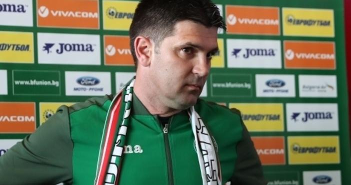Селекционерът на юношеския национален отбор до 19 години Ангел Стойков