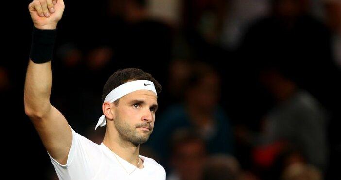 Българската звезда в тениса Григор Димитров заложи на нов имидж.