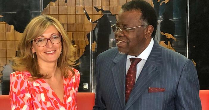 Снимки: Външно министерствоЗаместник министър-председателят и министър на външните работи Екатерина