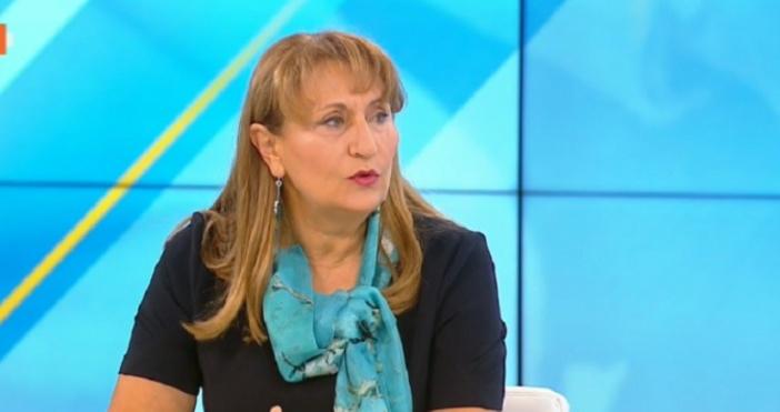 Кадър: БНТБившият социален министър Лидия Шулева направи своята прогноза за