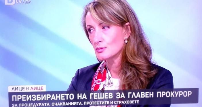 Бившият министър на правосъдието Зинаида Златанова коментира в предаването