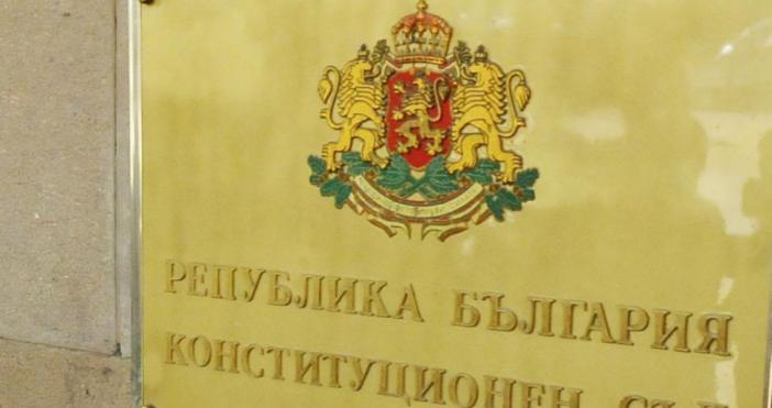 Снимка БулфотоКонституционният съд обяви за противоконституционна разпоредбатаот Закона за защита