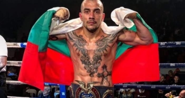Българският боец Димитър Пенчев завоюва Европейския пояс на WAKO Pro