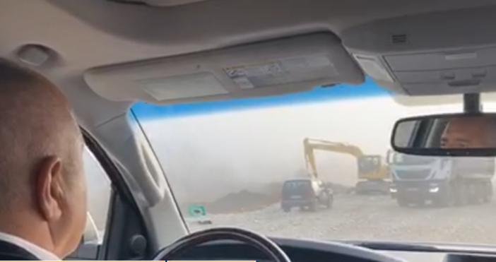 Източник и видео: Бойко Борисов, фейсбукПремиерътБойко Борисовотново тръгна на инспекция