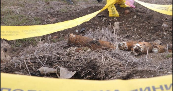 Стари боеприпаси са намерени в склад в кметството в омуртажкото
