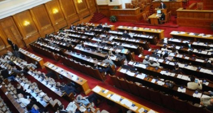 Снимка: НС гледа данъчните закони на второ четене