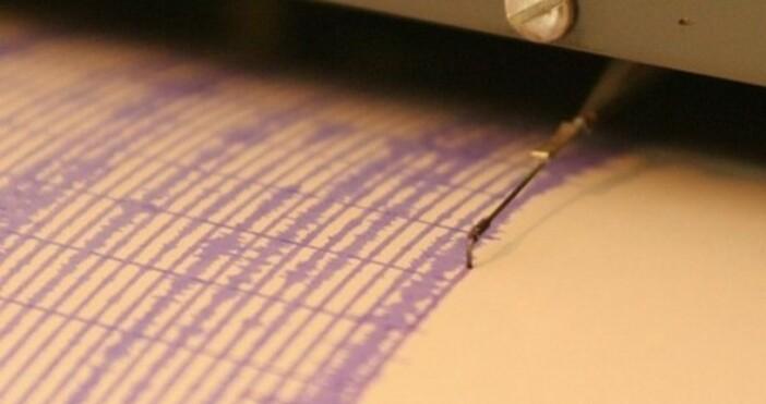 Слабо земетресение е регистрирано в Мраморно море край Турция. Това