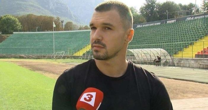 Единственият действащ български футболист, играл на голямо първенство - Валери
