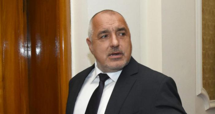 Премиерът Бойко Борисов на изслушване в Народното събрание. В рамките