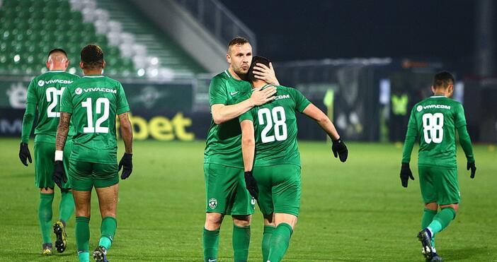 ЦСКА (Москва) и Лудогорец завършиха при 1:1 в предпоследна среща