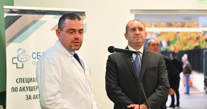 Президентът на Република България г-н Румен Радев и съпругата муДесислава