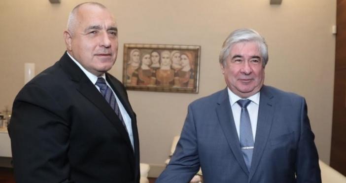 Снимка Министерски съветМинистър-председателят Бойко Борисов се срещна с посланика на