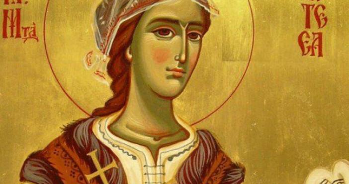 Днес честваме Св. преподобна Филотея Търновска (XII век). Преподобна Филотея