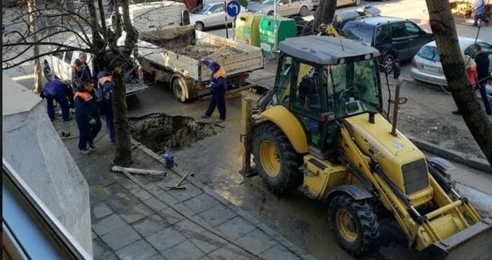 Редактор: Александър Дечевe-mail: alexander_dechev_petel.bg@abv.bgПо водната авария на ул.