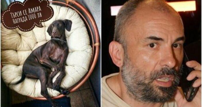 Рап звездата Спенс търси кучето си, което е безследно изчезнало